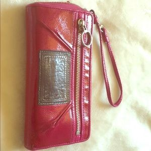 Coach Wallet Poppy Collection